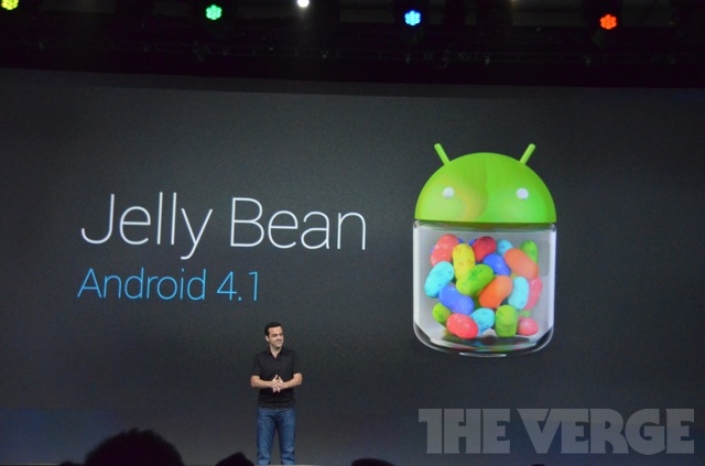 На Google I/O представлена операционная система Android 4.1 Jelly Bean 27.06.2012 22:51