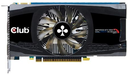 Club 3D GeForce GTX 550 Ti CoolStream